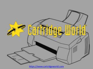 Cartridge Ink Refills | Cartridge World