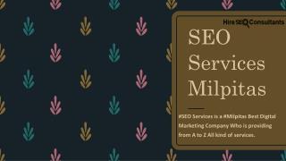 SEO Services Milpitas