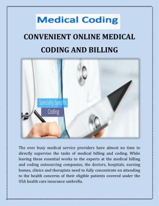CONVENIENT ONLINE MEDICAL