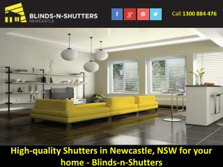 High-quality Shutters in Newcastle, NSW for your home - Blinds-n-Shutters