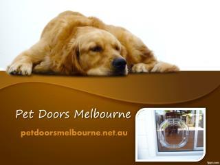 Pet Doors Installation