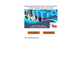 Umbilical Cord Blood Banking Market Growth Rate, Developing Trends, Manufacturers, Countries and End User, Global Foreca