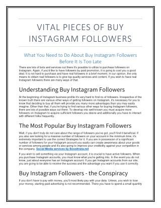 BoostInsta Instagram Marketing Service