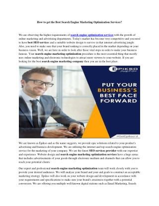 Digital Marketing Solutions- Epikso