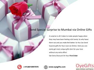Send Special Surprise to Mumbai via Online Gifts