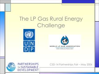 The LP Gas Rural Energy Challenge