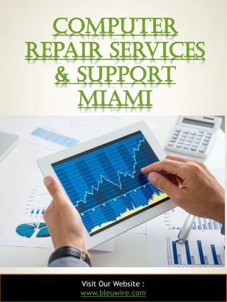 Computer Repair Services & Support Miami
