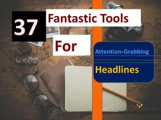 Headline tools