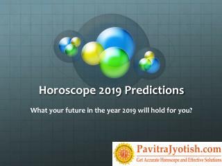 2019 Horoscope Predictions