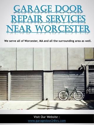 Garage Door Repair Services Near Worcester