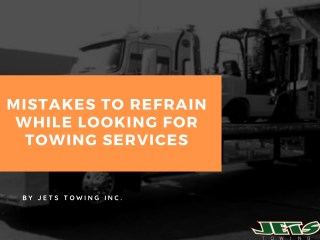 Hire The Best Towing Services In Brooklyn, New York