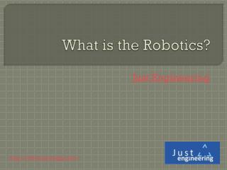 Robotics training in pune, India   Just Engineering