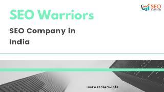 SEO Company in Madurai - SEO Warriors