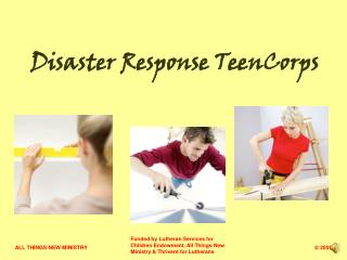 Disaster Response TeenCorps