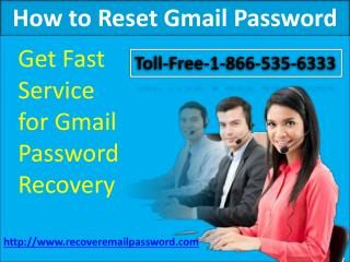 How to Reset Gmail Account   Password Recovery
