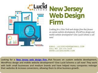 New Jersey Web Design Firm