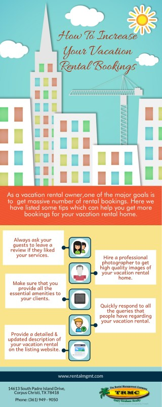 How To Increase Your Vacation Rental Bookings