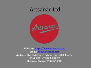 Website design and development Bristol – Artsanac Ltd.