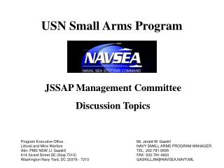 JSSAP Management Committee Discussion Topics
