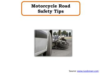 Motorcycle Road Safety Tips