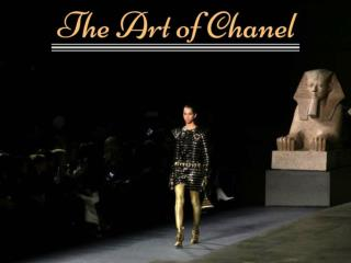 The art of Chanel 2018