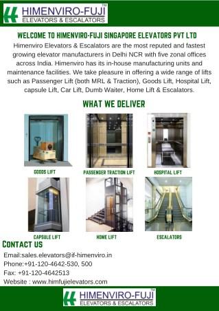Himenviro fuji elevators