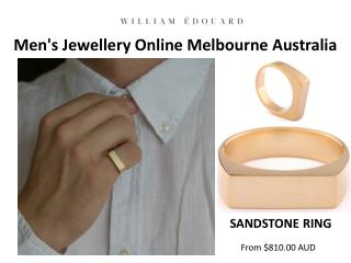 Men's Jewellery Online Melbourne Australia