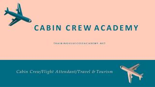 Join Airline crew Training Course