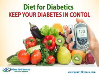 Diabetic diet plan - A healthy diabetic diet plan