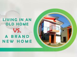 Living in an Old Home vs. a Brand New Home