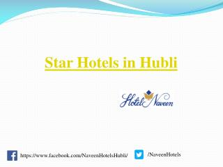 Star Hotels in Hubli