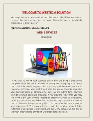 webtech solution