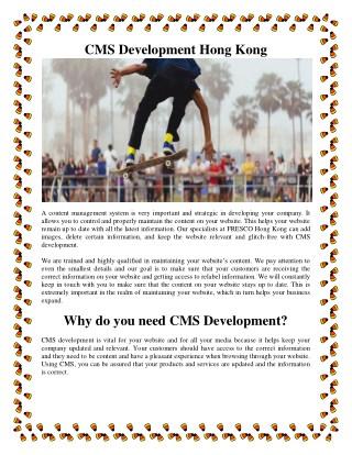CMS development - Vital For Your Website