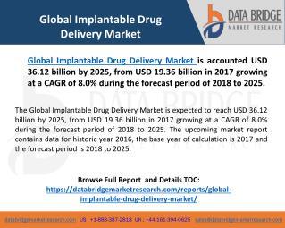 Global Implantable Drug Delivery Market