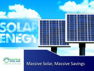 Massive Solar - Residential and Commercial Solar Systems Installers in Sydney, Australia
