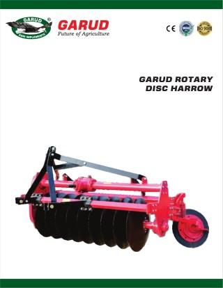 Rotary Disc Harrow - Garud Implements