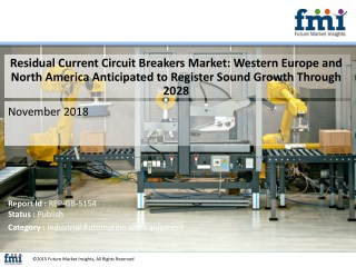 Fluctuating nature of the construction industry is expected to impact the residual current circuit breakers market, offs