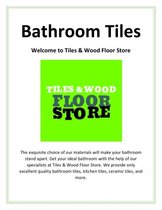 Best Bathroom Tiles - tileswoodfloorni