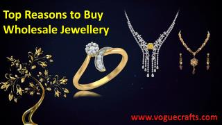 Top reasons to buy wholesale jewellery voguecrafts