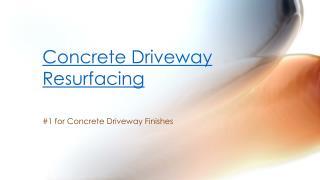 Driveway Polished Concrete Services