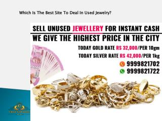 Which Is The Best Site To Deal In Used Jewelry?