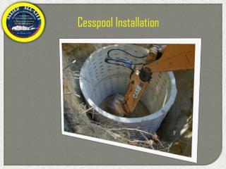 Cesspool Installation New York