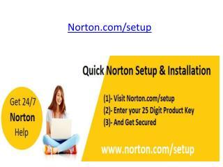 Norton Antivirus Activation