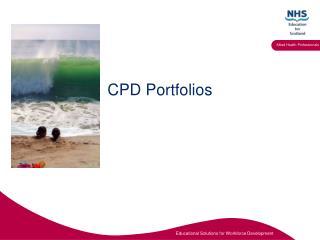 CPD Portfolios