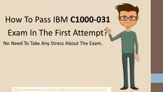 C1000-031 Exam Questions