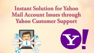 Instant Solution for Yahoo Mail Issues through Yahoo Customer Support