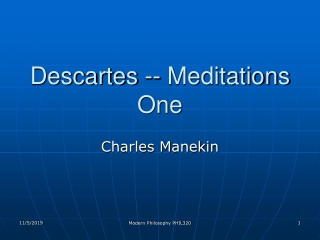 The Science of Meditation A brief synopsis