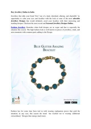 Buy Jewellery Online in India