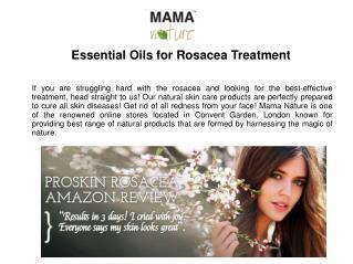Essential Oils for Rosacea Treatment